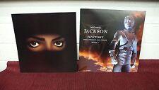 MICHAEL JACKSON HIStory & Dangerous Original 2 Sided Promo Poster Flats LQQK!