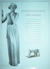 Prospekt Phoenix Nähmaschine Klasse 29 Baer & Rempel Bielefeld 1936 ! (D