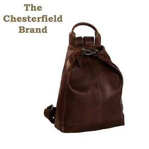 Damen Rucksack Leder Tasche, Cityrucksack,  Backpack, Pull-up Leder 500gr leicht