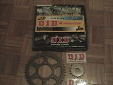 SUZUKI GSXR 1100 WS-WW 95-98 OEM X-RING DID 532ZLV Chain + Sprocket Kit GSXR1100