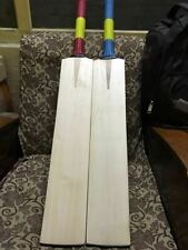 20-20 English Willow Cricket Bat Big 40-44 mm Edges Custom Made Bat Thick Edge