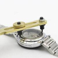 Watch Back Case Cover Opener Adjustable Remover Repair Wrench Watchmaker Tool RF
