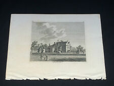 """Antique Print Of """"The Great Hall Of Beaulieu Abbey"""" Hampshire"""