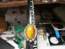 Ring Size 9 Old Pawn Tiger Eye