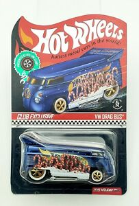 Hot Wheels RLC Redline Club 2019 Holiday VW Drag Bus Volkswagen Neo-Classics