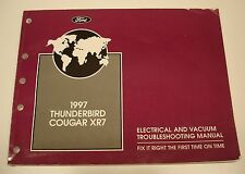 1997 Ford Thunderbird Mercury Cougar XR7 Electrical & Vacuum Service Shop Manual