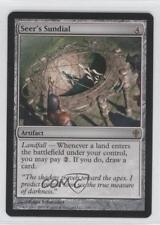 2010 Magic: The Gathering - Worldwake Booster Pack Base #130 Seer's Sundial 0b5
