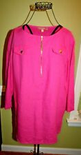 ELLEN TRACY PEPLUM STYLE BLOUSE LADIES SIZE MEDIUM