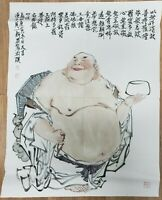 CHINESE WATERCOLOR PAINTING {Buddha}
