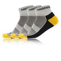 Higherstate Freedom Mens Womens Running Breathable Anklet Socks 3 Pack