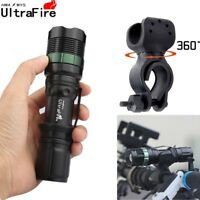 Ultrafire 12000LM Zoomable LED XML T6 LED Flashlight Torch Super Bright Light !