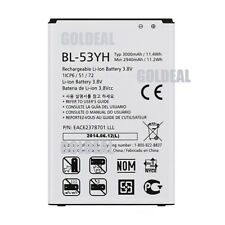 New LG G3 Replacement Li-ion Battery BL-53YH D850 D851 D852 D855 3000mAh