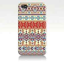 IPHONE Shell 4/5/5C Pattern Traditional Tribal Ethnic (Aztec Triangle)