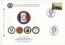 PICO 1 Italy First Day Cover District Mark Grand Lodge Consecration 2010