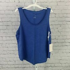 WOMEN'S LOOSE FIT TANK TOP NEON BLUE M TARGET A NEW DAY BRAND NEW W/TAGS!
