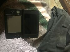 nintendo 3DS red and black with super Mario bros