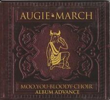 AUGIE MARCH - Moo, You Bloody Choir (CD 1999) USA PROMO Digipak MINT Dream Pop