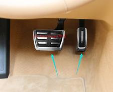 2PCS Aluminum Brake Pedal+Accelerator Pedal Cover For Porsche Macan 2015-2018