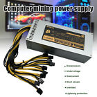 2000W Modular Mining Power Supply Miner For ETH Rig Ethereum Miner S9 S7 L3+ US
