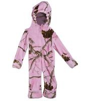 NEW Browning Bunting Weevil Realtree AP PINK Camo Fleece Snow Suit Baby Girl T23