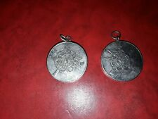 New listing Greece army 2 silver different platted Medals Royal and Xounta A.Σ.Α.Ε.Δ 1947.