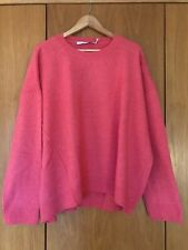 & Other Stories wool jumper pink - size L - great condition