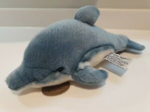 """RUSS BERRIE YOMIKO CLASSICS DOLPHIN PLUSH 12"""" NEW WITHOUT TAGS"""