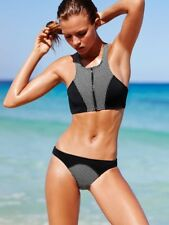 Wire Free Top Ladies Bikini Swimsuits - Black