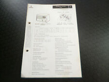 Original Service Manual Schaltplan Siemens Super A 60
