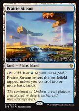 Mtg PRAIRIE STREAM Battle for Zendikar rare  Magic the Gathering card