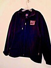 NY Giants Men's Size M Black Foul Weather Zipper Jacket New Without Tags