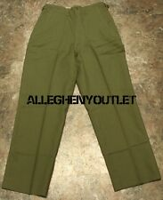 US Military Korean M-1951 WOOL FIELD TROUSERS PANTS w/ Zipper ALL SIZES NEW