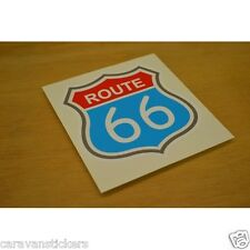 Americana 'Route 66' Car Caravan Sticker Decal Graphic - SINGLE