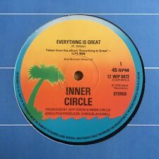 """Inner Circle - Everything Is Great UK 1979 12"""" Island Records"""