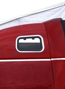 Volvo VNL Upper Sleeper Chop Top Window Trim  Pair  # 14320