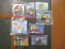 New ListingAuthentic Disney Trading Pins Backer Cards Lot of 8