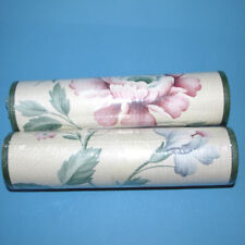 2 Rolls Hickory Creek Wallpaper Border Vinyl Textured Prepasted Floral New