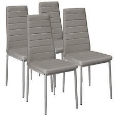 4x Chaise de salle à manger ensemble salon design chaises cuisine neuf gris