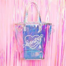Fashion Women Holographic Shoulder Bag Hologram Laser Tote Purse Handbag Bags