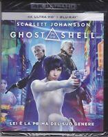 4K Ultrahd + Blu-Ray Ghost IN The Shell Avec Scarlett Johansson Nouveau 2017