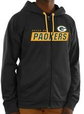 NEW Licensed NFL Green Bay Packers Full Zip Sweatshirt Size L - FREE Shipping!