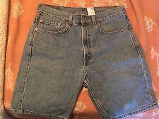 Mens Levis Regular Straight Fit Denim Jean Shorts size 33