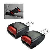 Car Seat Belt Clip Extender Support Buckle & Safety Alarm Stopper Canceller 2pcs