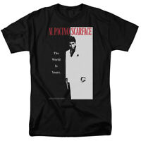 Scarface Classic Postor Al Pacino Licensed Adult T-Shirt