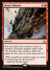 Rivals of Ixalan ~ BRASS'S BOUNTY rare x 4  Magic the Gathering card