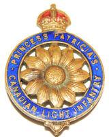 WW1 Canada PPCLI  Princess Patricia's Canadian Light Infantry Sweetheart badge !