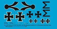 Peddinghaus-Decals 1/72 3647 Albatros D.V. 1154/17 Max Ritter von Müller, Jasta