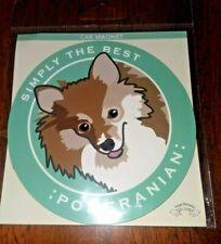 Pomeranian Dog Car Magnet