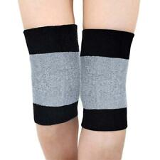Knee Warmer Muscle Joint Care Compression Bandage Black/Grey Breathable Stretch