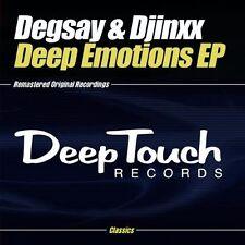 Degsay/Djinxx - Deep Emotions EP [New CD] Manufactured On Demand